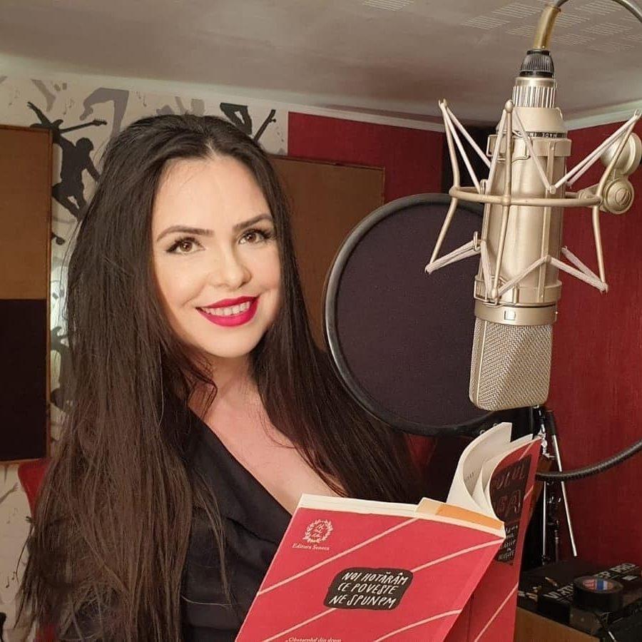 Voice over audiobook studio de inregistrari