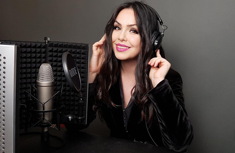 Voice over Stefania Mihailescu