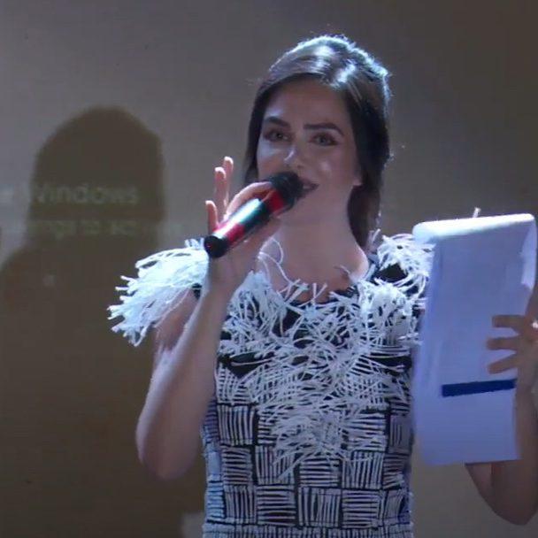 Moderator Stefania Mihailescu